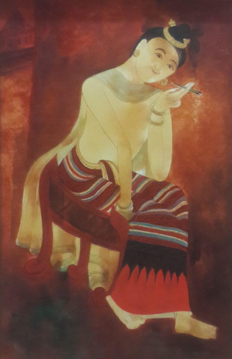 kiyo tobacco( replica mural)